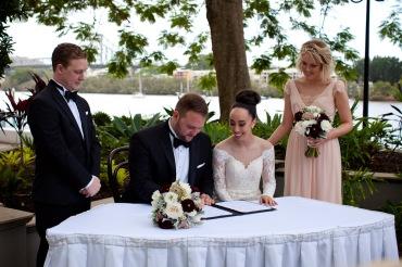stamford plaza brisbane wedding tiane alex kiss the groom photography-0541