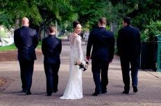 stamford plaza brisbane wedding tiane alex kiss the groom photography-0686
