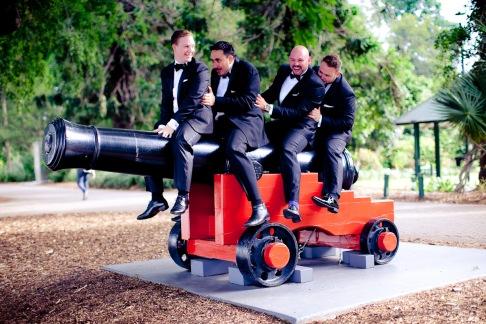 stamford plaza brisbane wedding tiane alex kiss the groom photography-0702