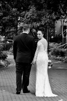 stamford plaza brisbane wedding tiane alex kiss the groom photography-0754