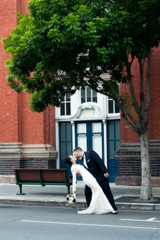 stamford plaza brisbane wedding tiane alex kiss the groom photography-0811