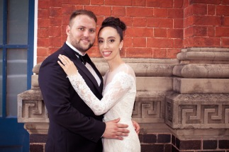 stamford plaza brisbane wedding tiane alex kiss the groom photography-0817
