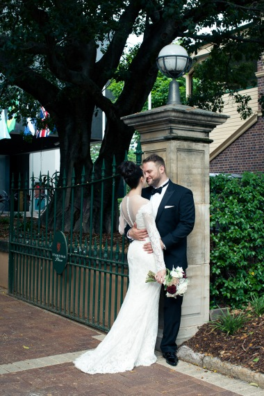 stamford plaza brisbane wedding tiane alex kiss the groom photography-0858