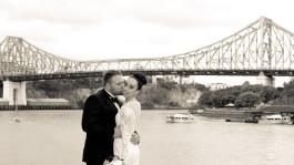 stamford plaza brisbane wedding tiane alex kiss the groom photography-0909