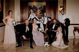 stamford plaza brisbane wedding tiane alex kiss the groom photography-0948