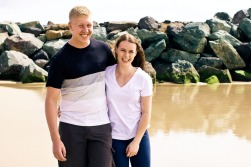 engagement shoot coolangatta emilie nick kiss the groom photography-0042