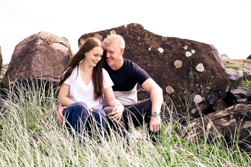 engagement shoot coolangatta emilie nick kiss the groom photography-0049