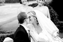 lakelands golf club wedding talia tim kiss the groom-23