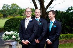 lakelands golf club wedding talia tim kiss the groom-24