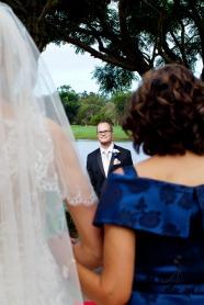 lakelands golf club wedding talia tim kiss the groom-30
