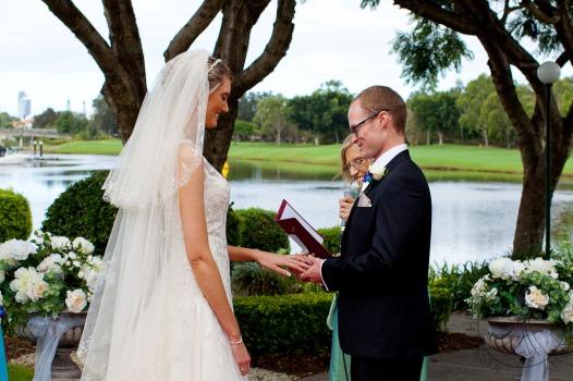 lakelands golf club wedding talia tim kiss the groom-36