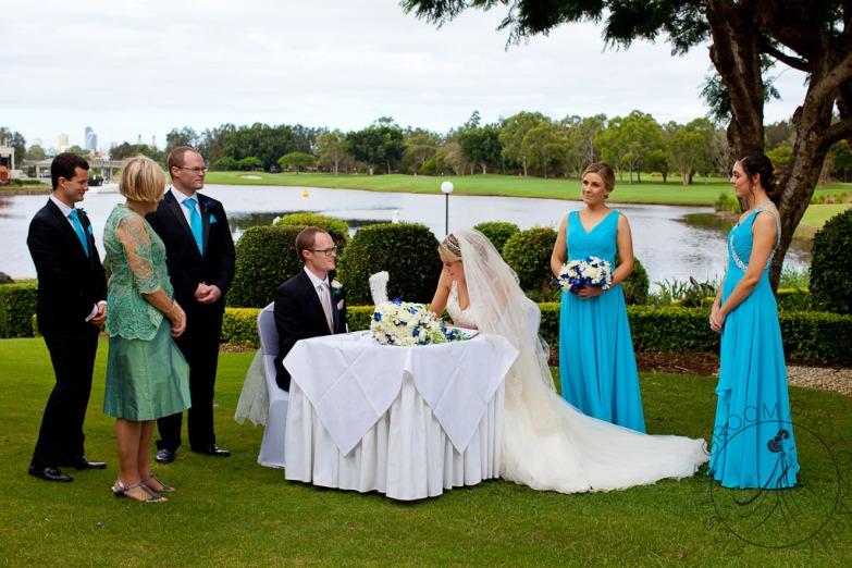 lakelands golf club wedding talia tim kiss the groom-39