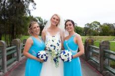 lakelands golf club wedding talia tim kiss the groom-49