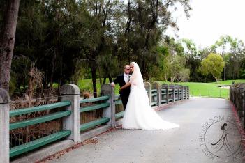 lakelands golf club wedding talia tim kiss the groom-52