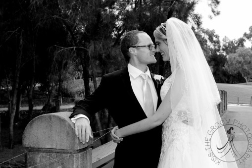 lakelands golf club wedding talia tim kiss the groom-53
