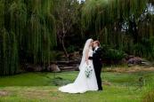 lakelands golf club wedding talia tim kiss the groom-64