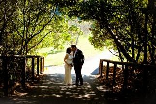 burleigh heads wedding kiss the groom-0487
