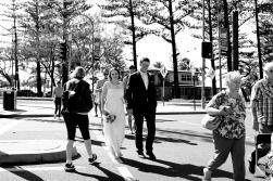 burleigh heads wedding kiss the groom-0585