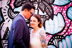 burleigh heads wedding kiss the groom-0621