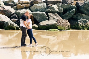 coolangatta engagement shoot emilie nick kiss the groom photography-0034