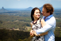 maleny one tree hill engagement shoot ben nataliya kiss the groom-0068