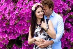 maleny one tree hill engagement shoot ben nataliya kiss the groom-0133