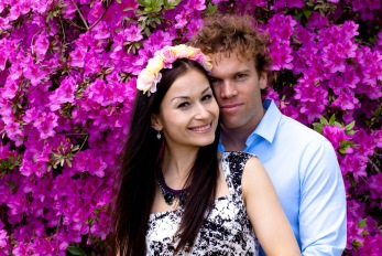 maleny one tree hill engagement shoot ben nataliya kiss the groom-0139