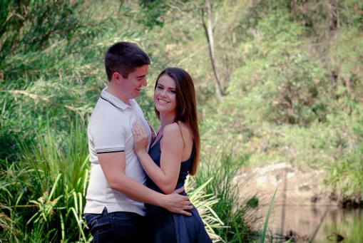 numinbah valley engagement shoot shannon matt kiss the groom-0050